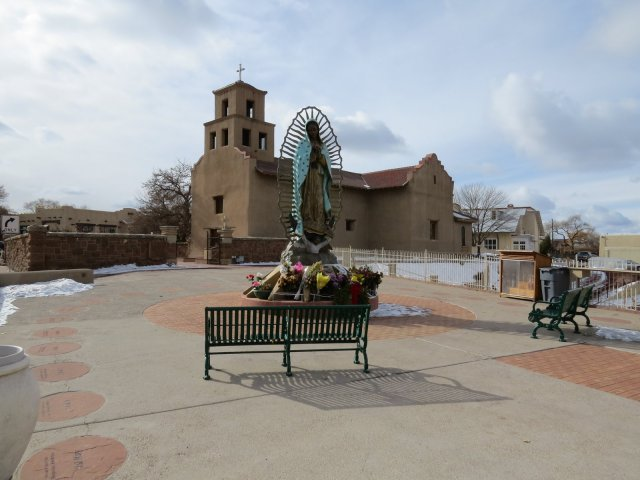 El Santuario de Guadalupe, downtown Santa Fe.