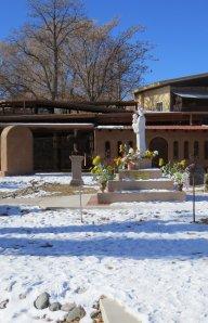 in the gardens of el Santuario