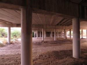 Under the Pantano Bridge