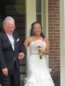 My brother-in-law with Rachel