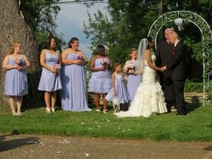 The female attendants.