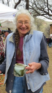 Barbara Clark who moved to the area in 1970 and began creating pottery. Thank you Barbara!