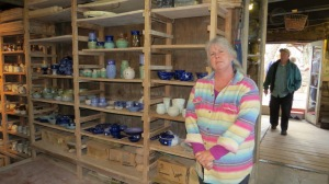 Martha is a potter with Cascabel Clayworks. She apprenticed 24 years ago and returns yearly for the festival.