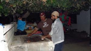 grill prep