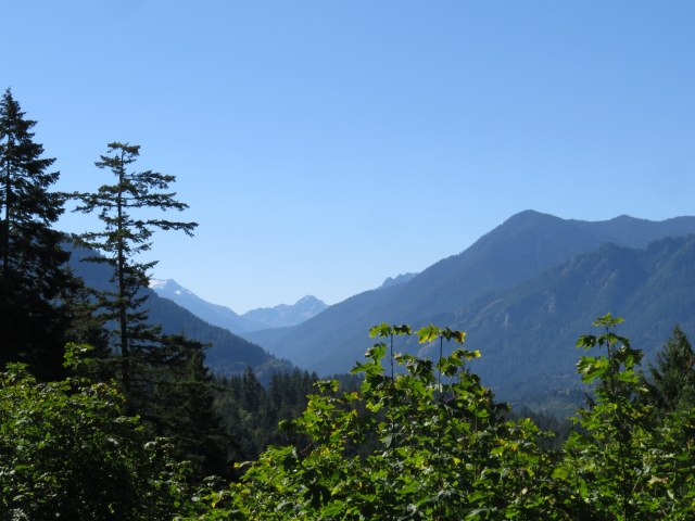 toward Lake Crescent