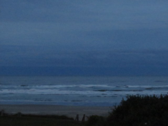 Yachats dawn, last day.
