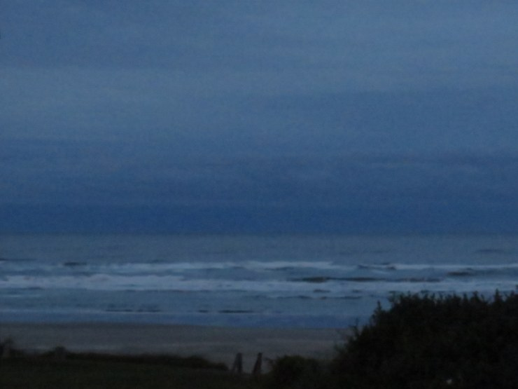 Yachats dawn, last day.