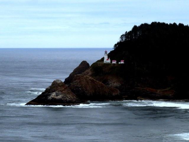 Umpqua Lighthouse. I love lighthouses.