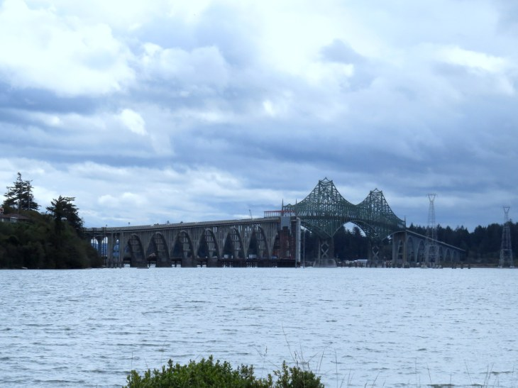 The bridge into Coos Bay area.