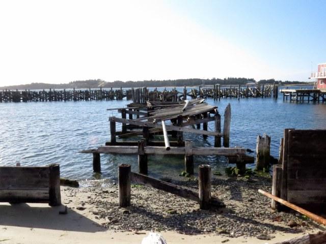 Old pier, Coos Bay.
