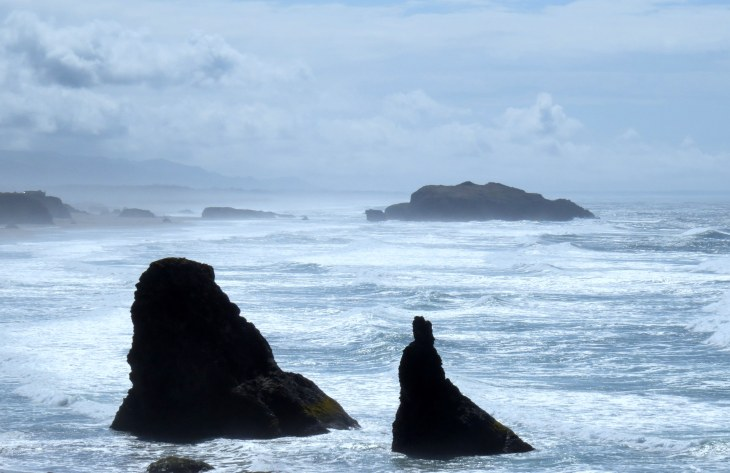 Just south of Bandon, Oregon.
