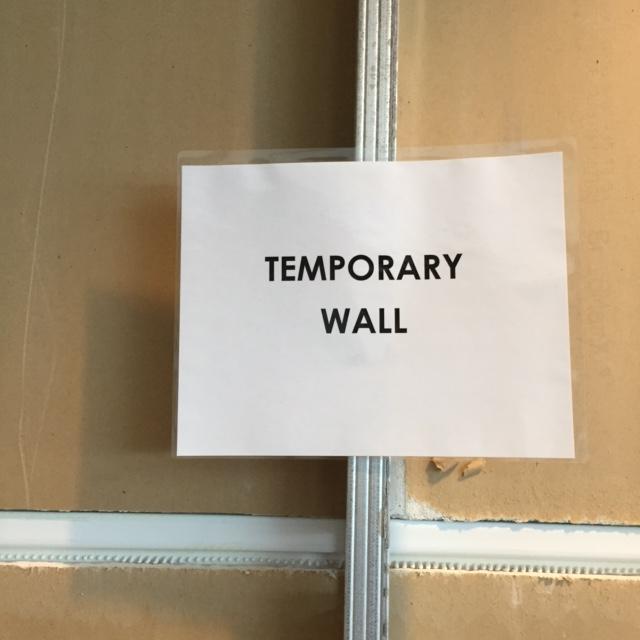 temp wall
